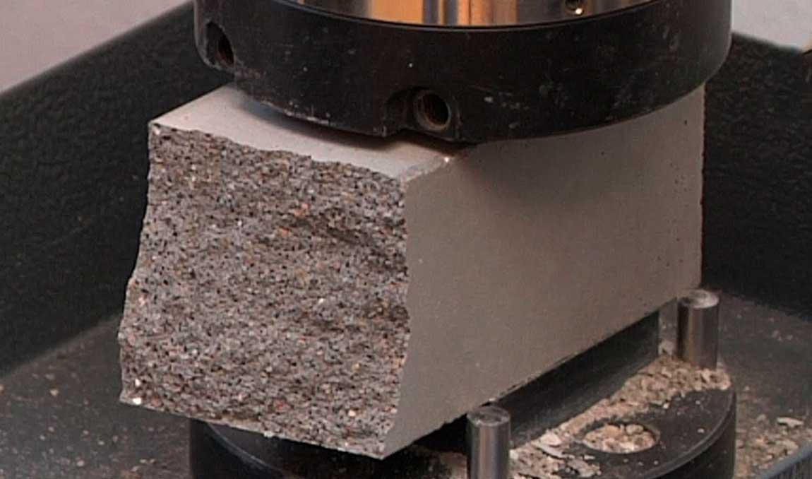 Сжатие бетона