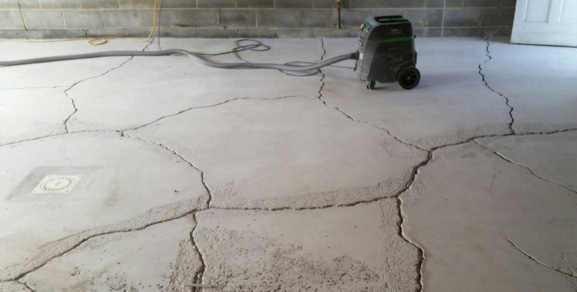 Ошибки при работе с бетоном